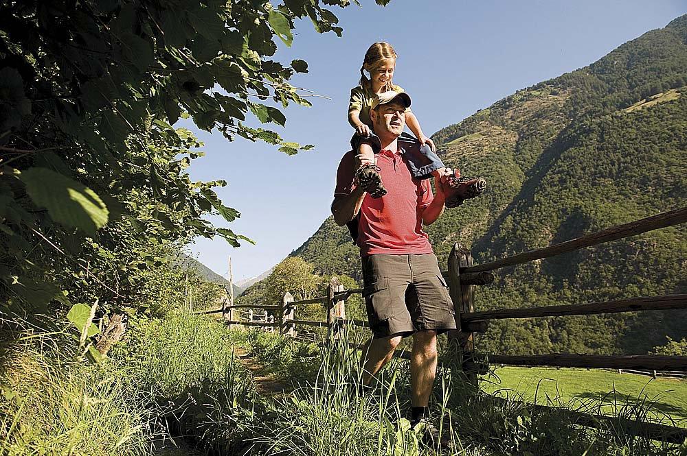 Soggiorno escursionistico nell'Area Vacanza di Merano – nella Valle dell'Adige: godete della natura