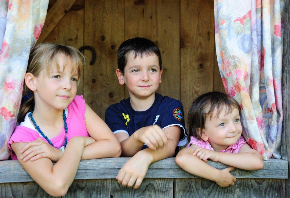 Vacanze per bambini nel residence Pichler