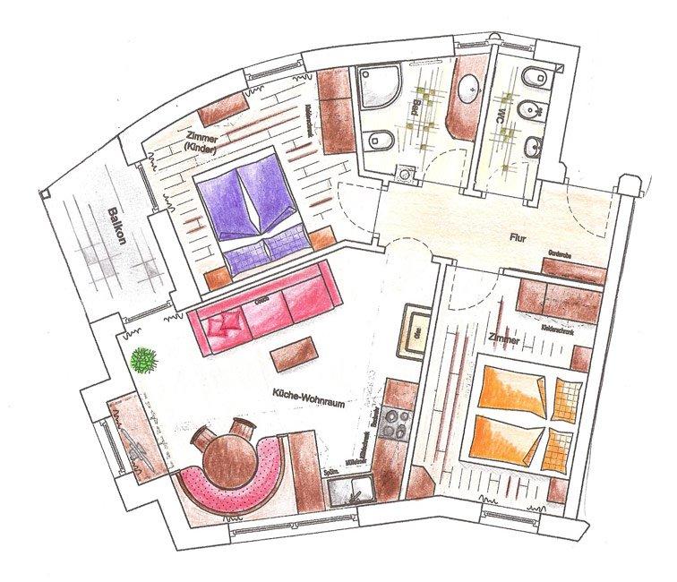 ferienwohnung st jakob r schhof haus pichler. Black Bedroom Furniture Sets. Home Design Ideas